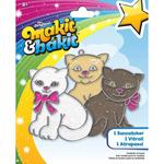 Kittens - Makit & Bakit Glittering Suncatcher Kits