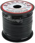 "Black - Rexlace Plastic Lacing .0938"" Wide 100yd Spool"