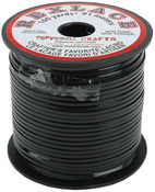 "Black - Rexlace Plastic Lacing .0938"" Wide 100yd Spool"