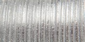 "Silver Sparkle - Rexlace Plastic Lacing .0938"" Wide 100yd Spool"