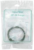 Green - Floral Wire 24 Gauge 50'