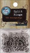 Silver - Vintage Collection Split Rings 8mm 100/Pkg