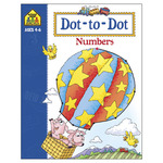 Dot To Dot Numbers Ages 4-6 - Activity Workbooks 32 Pages