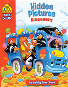 Hidden Pictures Discovery Ages 5+ - Activity Workbooks 32 Pages