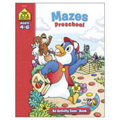 Mazes Preschool Ages 4-6 - Activity Workbooks 32 Pages