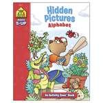 Hidden Pictures Alphabet Ages 5+ - Activity Workbooks 32 Pages