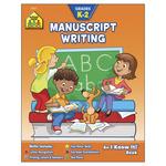 Manuscript Writing Grades K-2 - Curriculum Workbooks 32 Pages