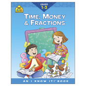 Time, Money and Fractions Grades 1-2 - Curriculum Workbooks 32 Pages