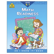 Math Readiness Grades K-1 - Curriculum Workbooks 32 Pages