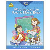 Multiplication Facts Grades 3-4 - Curriculum Workbooks 32 Pages