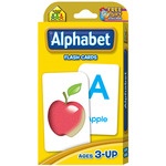 Alphabet 52/Pkg - Flash Cards