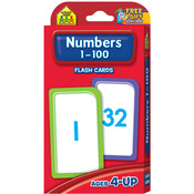 Numbers 1-100 50/Pkg - Flash Cards