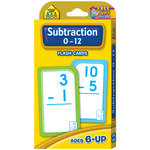Subtraction 0-12 53/Pkg - Flash Cards