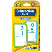 Subtraction 0-12 53/Pkg - Flash Cards