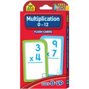 Multiplication 0-12 55/Pkg - Flash Cards