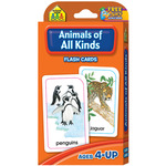 Animals of All Kinds 54/Pkg - Flash Cards