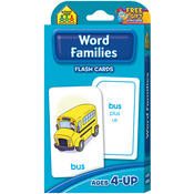 Word Families 54/Pkg - Flash Cards