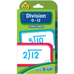 Division 0-12 52/Pkg - Flash Cards