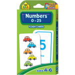 Numbers 0-25 54/Pkg - Flash Cards