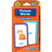 Picture Words 53/Pkg - Flash Cards