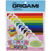 Origami Paper 100 Sheets - Ten Assorted Sizes