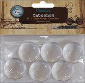 "Vintage Collection Acrylic Cabochons 1"" 6/Pkg"