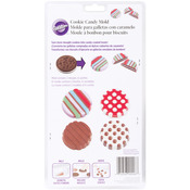 Dot Stripe 6 Cavity (2 Designs) - Cookie & Candy Mold