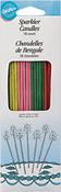 """Yellow, Pink, Green & Red - Sparkler Candles 6.5"""" 18/Pkg"""