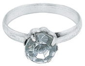 Silver - Engagement Rings 12/Pkg