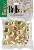 "Gold - Jingle Bells .875"" 18/Pkg"