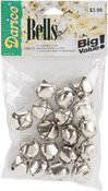 "Silver - Jingle Bells .875"" 18/Pkg"