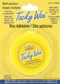 Tacky Wax Adhesive, 1oz
