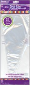 "Clear - Treat Bags 12"" Cone 20/Pkg"
