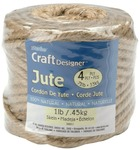 Natural - Craft Designer Jute 4 Ply 1lb 135'