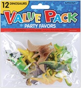 Dinosaurs - Party Favors 12/Pkg
