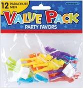 Parachute Men - Party Favors 12/Pkg