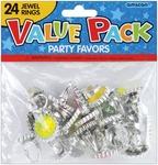 Jewel Rings - Party Favors 18/Pkg