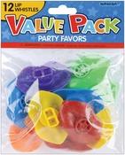 Lip Whistles - Party Favors 12/Pkg