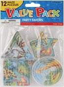 Rainforest Friends Puzzles - Party Favors 12/Pkg