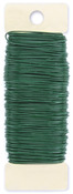 Green - Paddle Wire 22 Gauge 4oz/Pkg