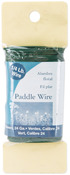 Green - Paddle Wire 24 Gauge 4oz/Pkg