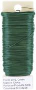 Green - Paddle Wire 26 Gauge 4oz/Pkg