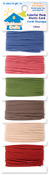 Colorful Thick-6 Colors 4yd/Each - Clubhouse Crafts Elastic Cord