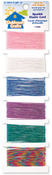 Sparkle-6 Colors 4yd/Each - Clubhouse Crafts Elastic Cord