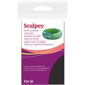 "2.75""X4.5"" - Sculpey Wet/Dry Sandpaper Variety Pack 8pc"