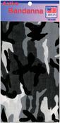 "Hav - A - Hank Camouflage Bandannas 22""X22""-Urban"