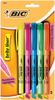 Assorted Colors - Bic Brite Liner Fluorescent Highlighters 5/Pkg