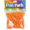 Orange - Fun Pack Acrylic Pony Beads 250/Pkg