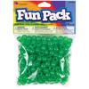 Green - Fun Pack Acrylic Pony Beads 250/Pkg