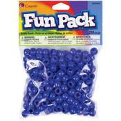 Blue - Fun Pack Acrylic Pony Beads 250/Pkg